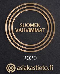 Suomen Vahvimmat 2020 - Asiakastieto.